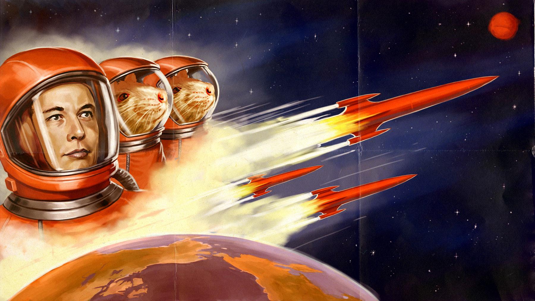 Elon Musk afferma che al 70% andrà su Marte