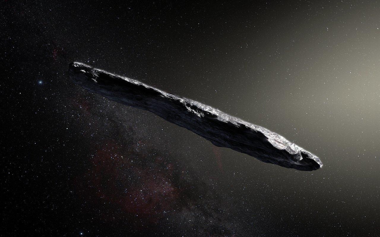 L'asteroide Oumuamua secondo alcuni ricercatori potrebbe essere una sonda aliena
