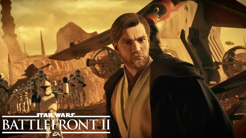 In arrivo Obi Wan Kenobi e la Battaglia di Geonosis nel prossimo aggiornamento di Battlefront II