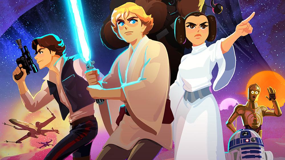 Star Wars Galaxy of Adventures: una nuova serie animata per il web