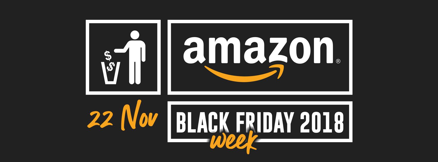 Amazon Black Friday 2018: Le migliori offerte di giovedì 22 novembre