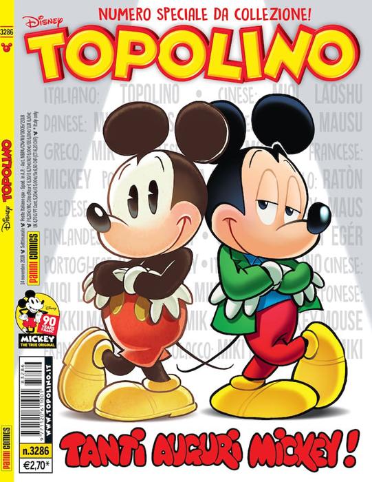 Da esordio in b/na icona pop, 90 anni di Topolino