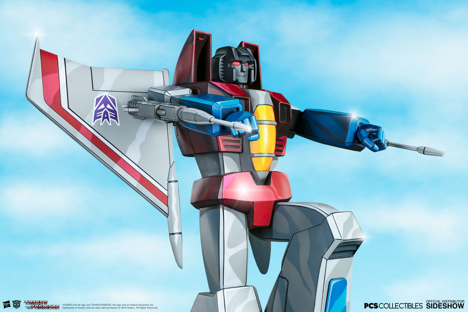 Starscream – G1 Statue by Pop Culture Shock (Museum Scale)