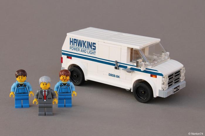 Norton74 E Il Suo Diorama Lego Di Stranger Things Leganerd