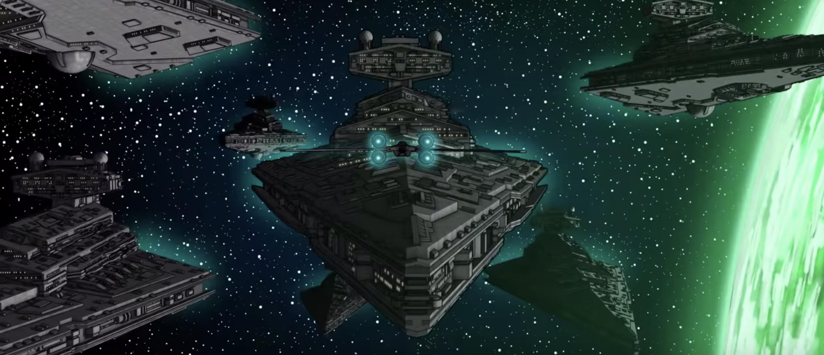 Star Wars MegaMix, il bellissimo showreel di Daz Tibbles