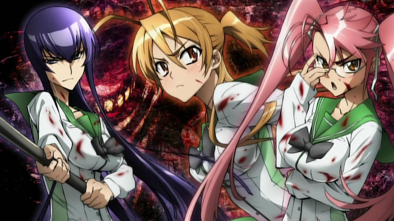 Highschool of the Dead, ecco perché il manga non avrà una conclusione