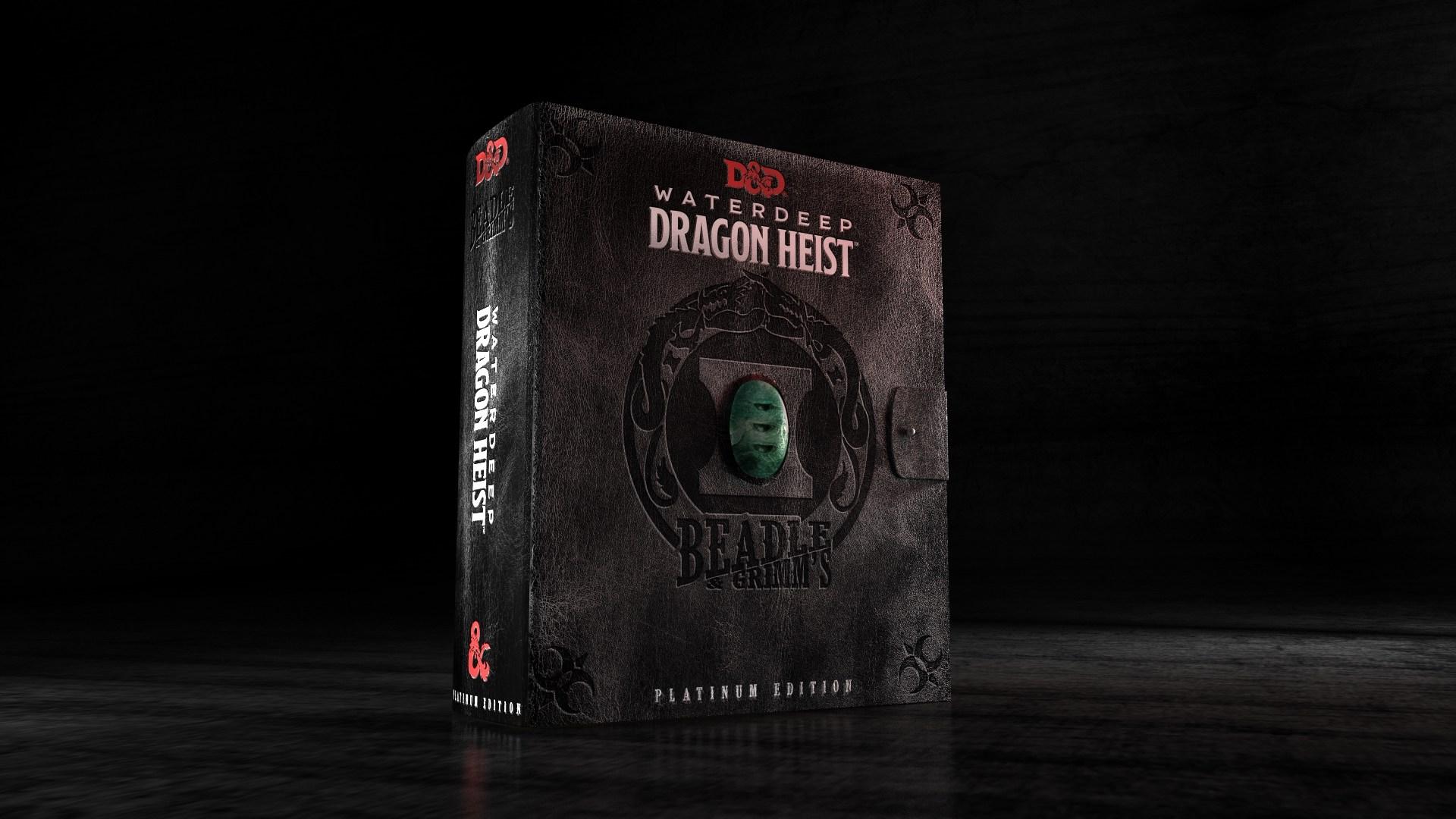 Waterdeep: Dragon Heist Platinum Edition, un lussuoso cofanetto per i collezionisti del gioco di ruolo