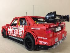 Lalfa Romeo 155 Di Nicola Larini In Versione Lego Technic Leganerd