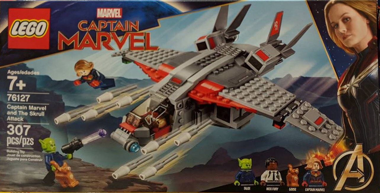 Già in vendita il set LEGO Marvel 76127 Captain Marvel and the Skrull Attack