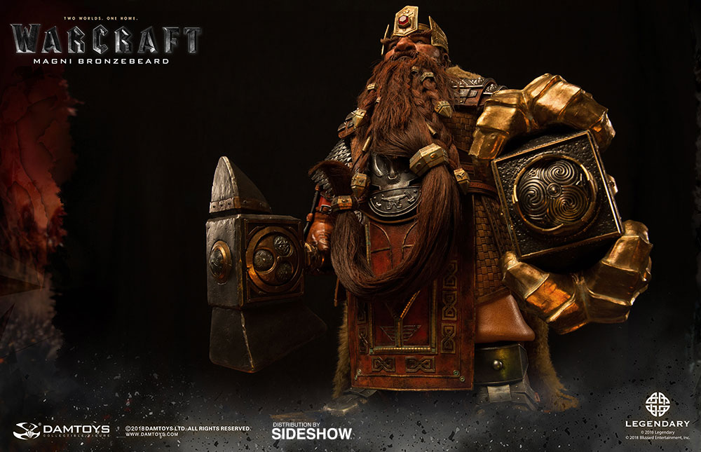 Magni Bronzebeard Premium Statue by DamToys & Sideshow Collectibles