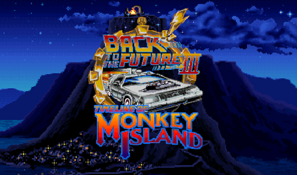 The Fan Game - Back To The Future III: Timeline of Monkey Island