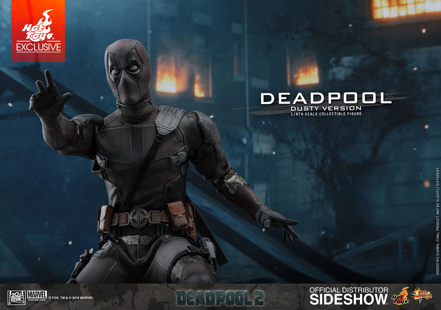 Deadpool (Dusty Version) Sixth Scale Figure by Hot Toys