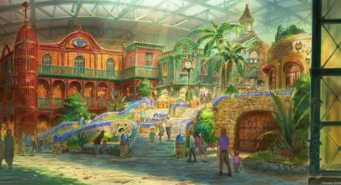 Il parco a tema dello Studio Ghibli aprirà nel 2022: ecco i primi concept art