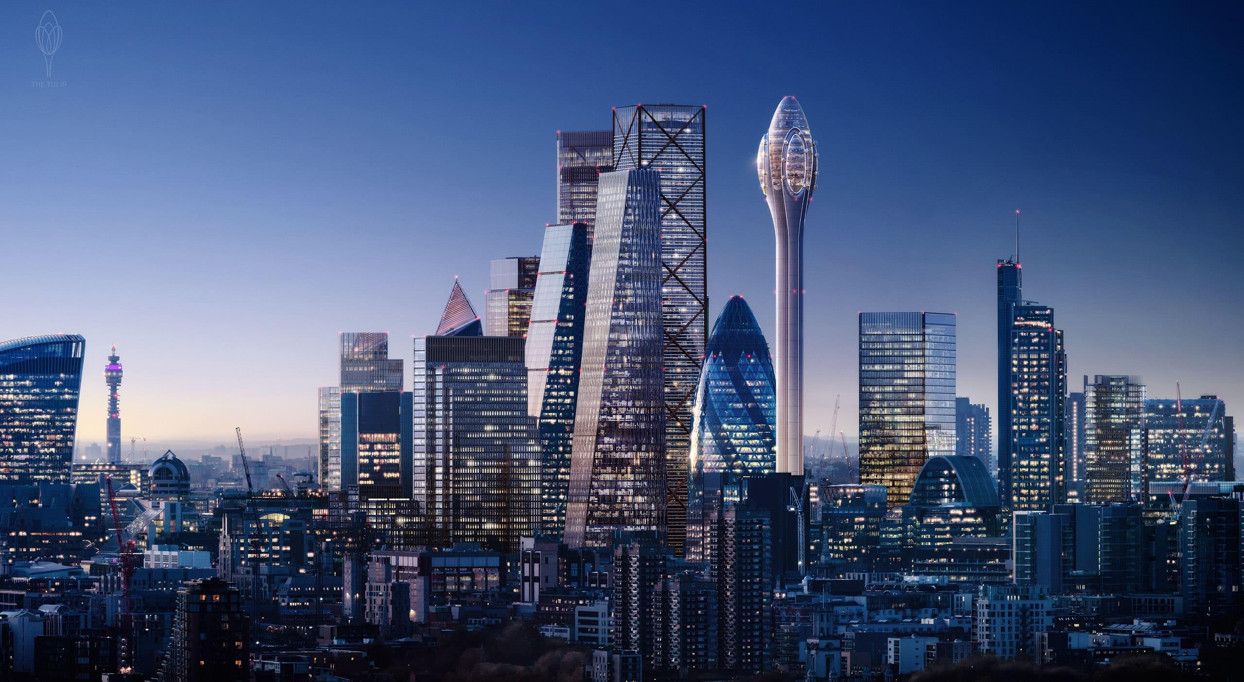 The Tulip, la nuova torre che cambierà la skyline di Londra