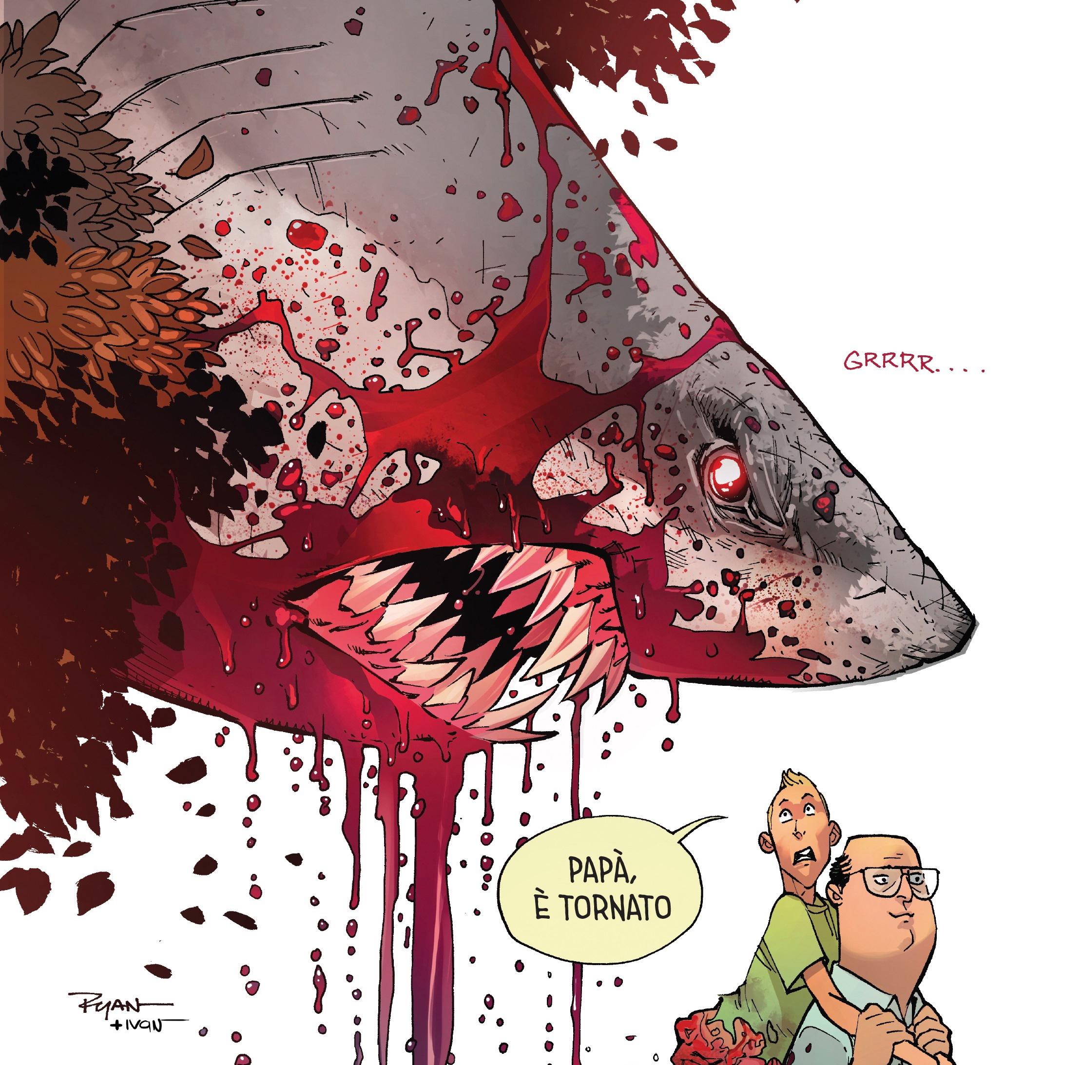 Grizzly Shark: le prime pagine del nuovo fumetto di Ryan Ottley, il disegnatore di Invincible e Spider-Man