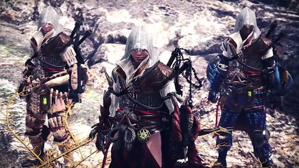 Annunciata una collaborazione tra Monster Hunter: World e la saga di Assassin's Creed