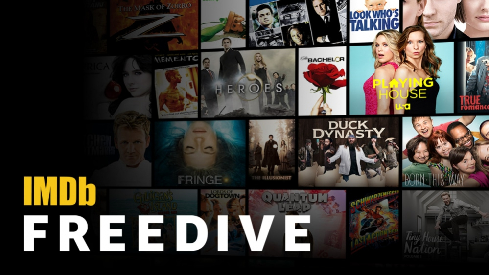 Freedive, ecco lo streaming video (gratuito) di Imdb