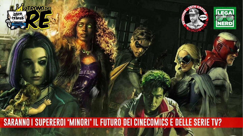 """Il Trono Del Re: saranno i supereroi """"minori"""" a salvare i cinecomics e le serie tv?"""