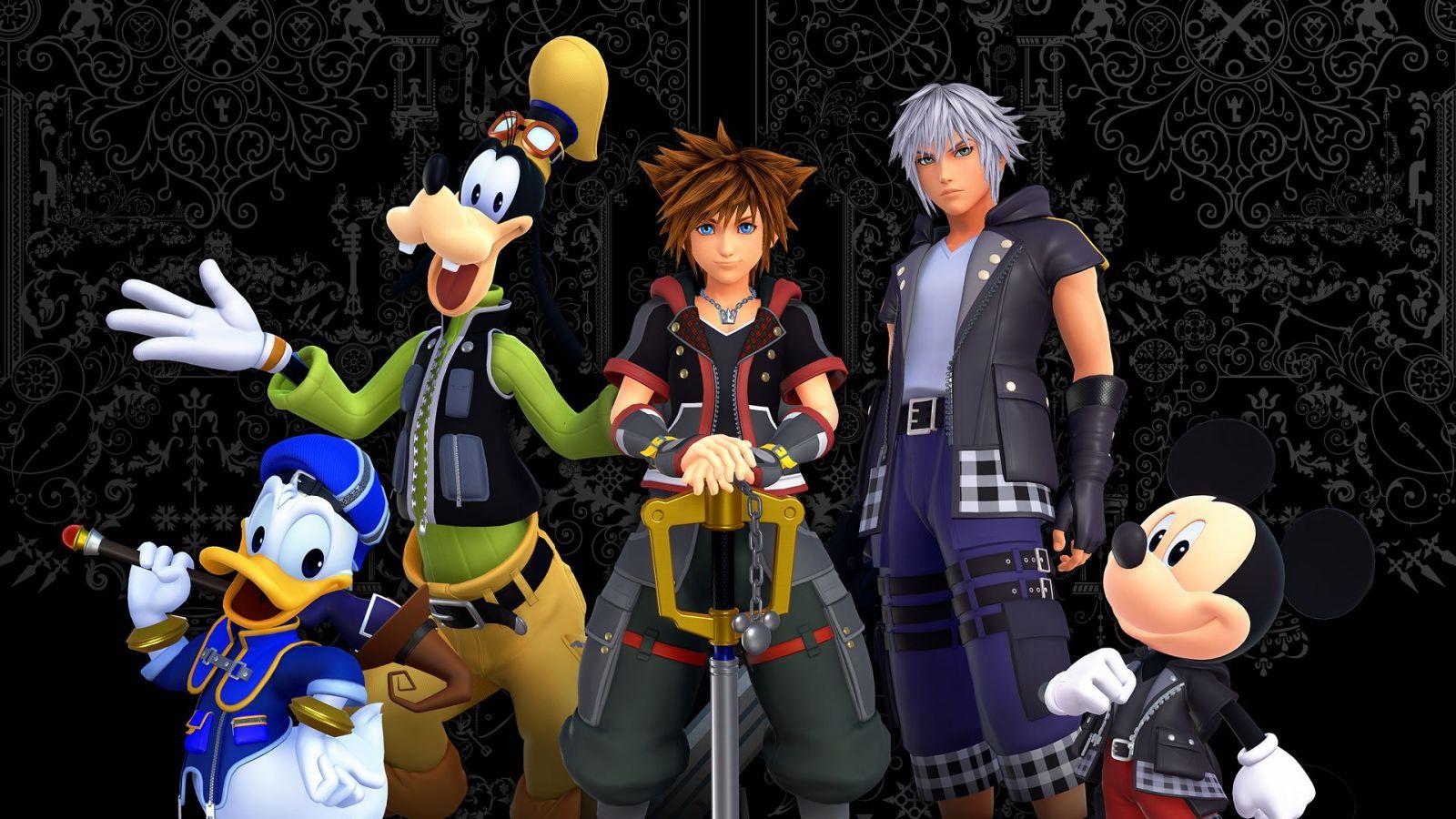 Tutti i franchise Disney coinvolti in Kingdom Hearts III