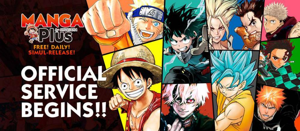 Manga Plus, arriva l'app rivoluzionaria di Shueisha