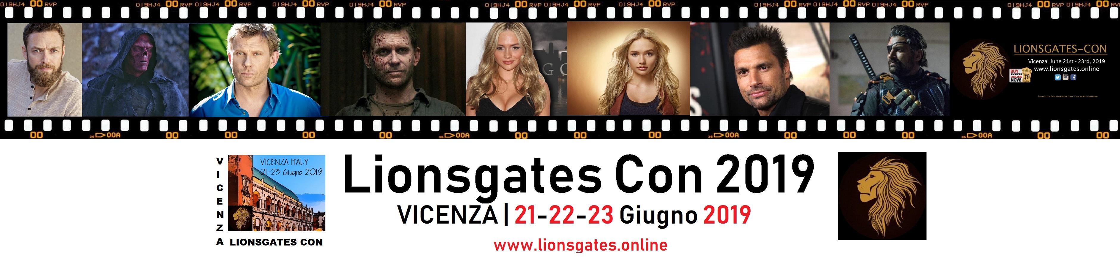 Lionsgates Con 2019: dal 21 al 23 Giugno a Vicenza