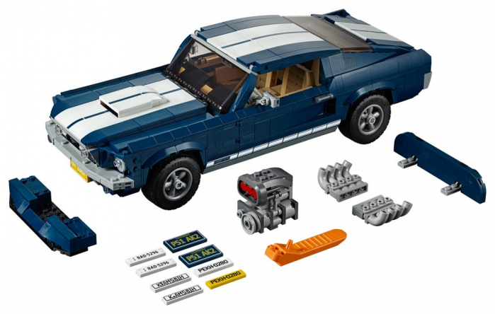 annunciato il set lego creator expert 10265 ford mustang. Black Bedroom Furniture Sets. Home Design Ideas