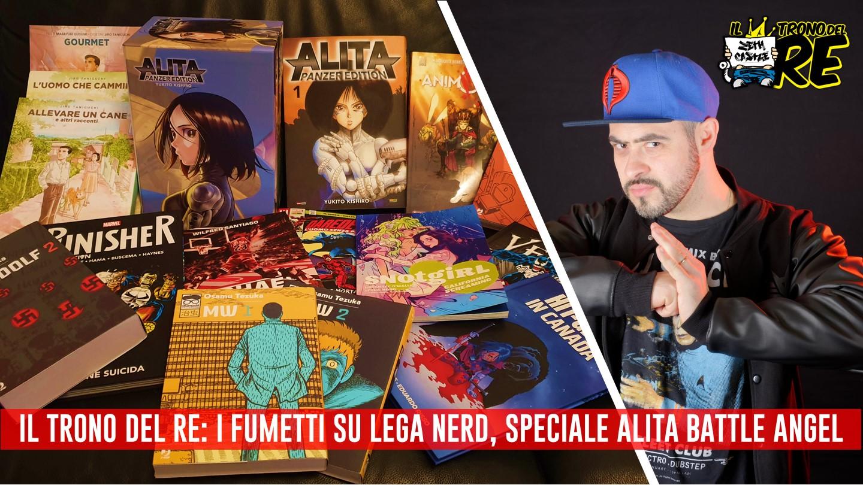 ITDR 04: Speciale Alita Battle Angel, dal fumetto al film e molto altro