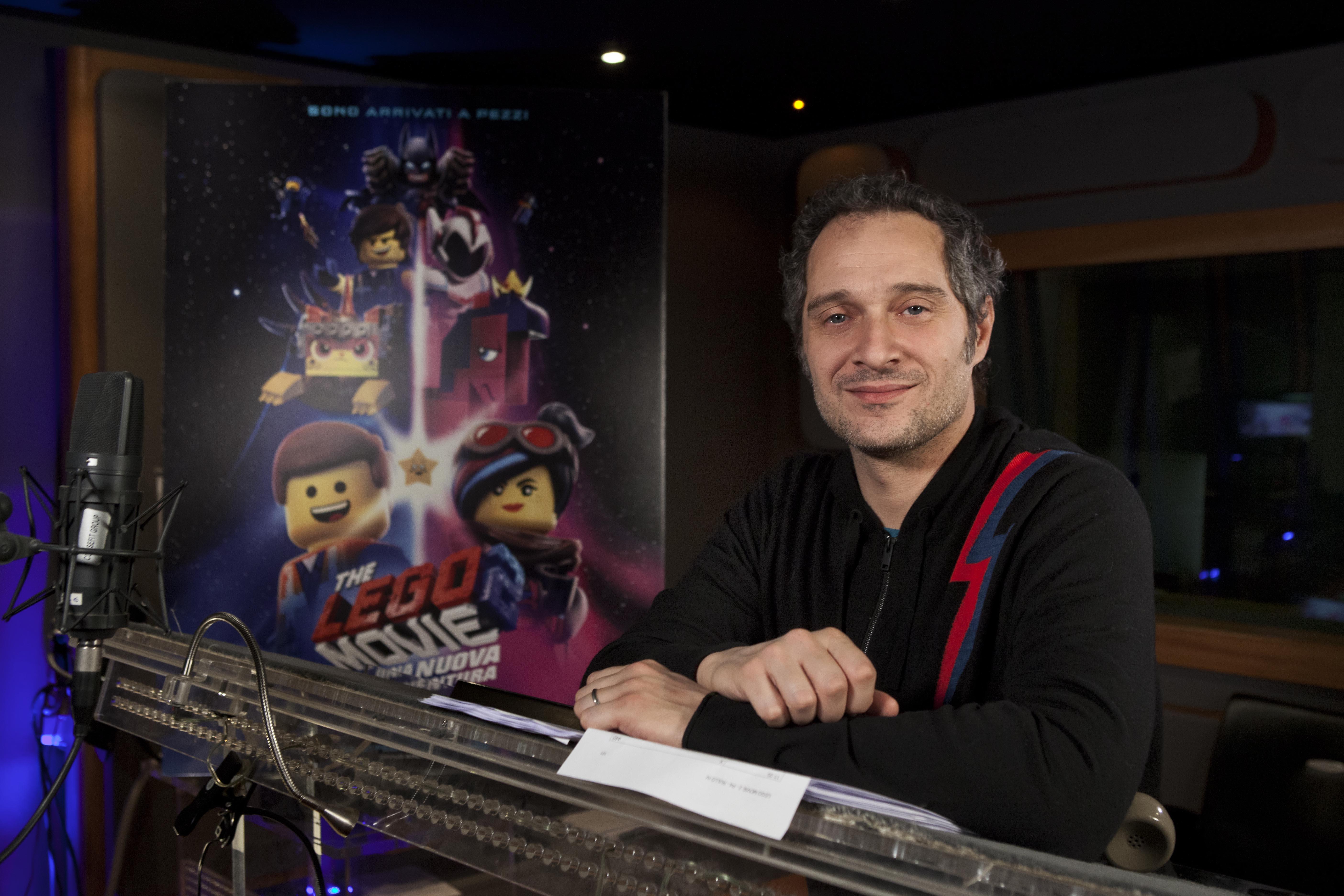 The Lego Movie 2: Claudio Santamaria torna a doppiare Batman