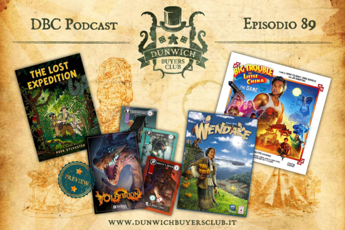 DBC 89: The Lost Expedition, Volfyirion, Wendake, Big Trouble in Little China