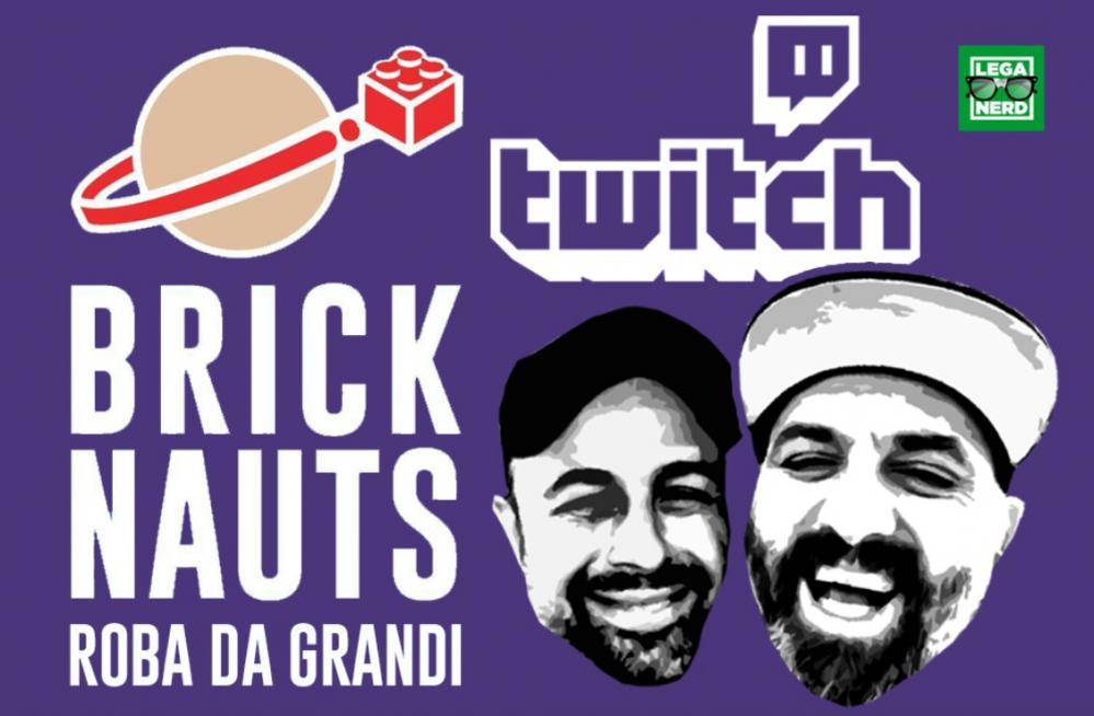 bricknauts live twitch
