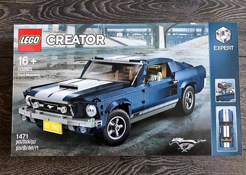 Il set LEGO Creator della Ford Mustang avvistato su eBay
