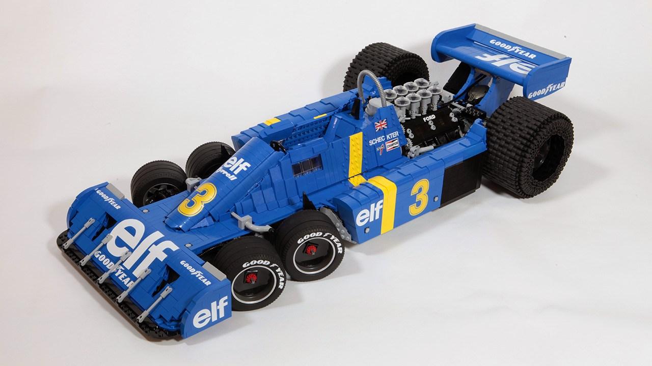 La nuova Tyrrell P34 di RoscoPC