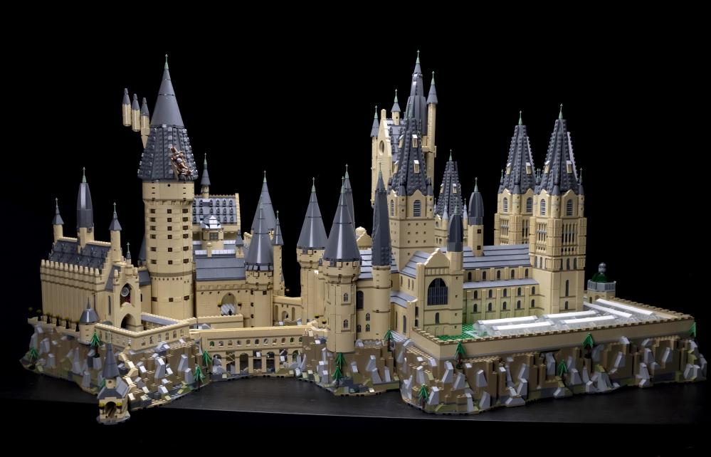 Il Castello Di Hogwarts Lego In Formato Extra Large