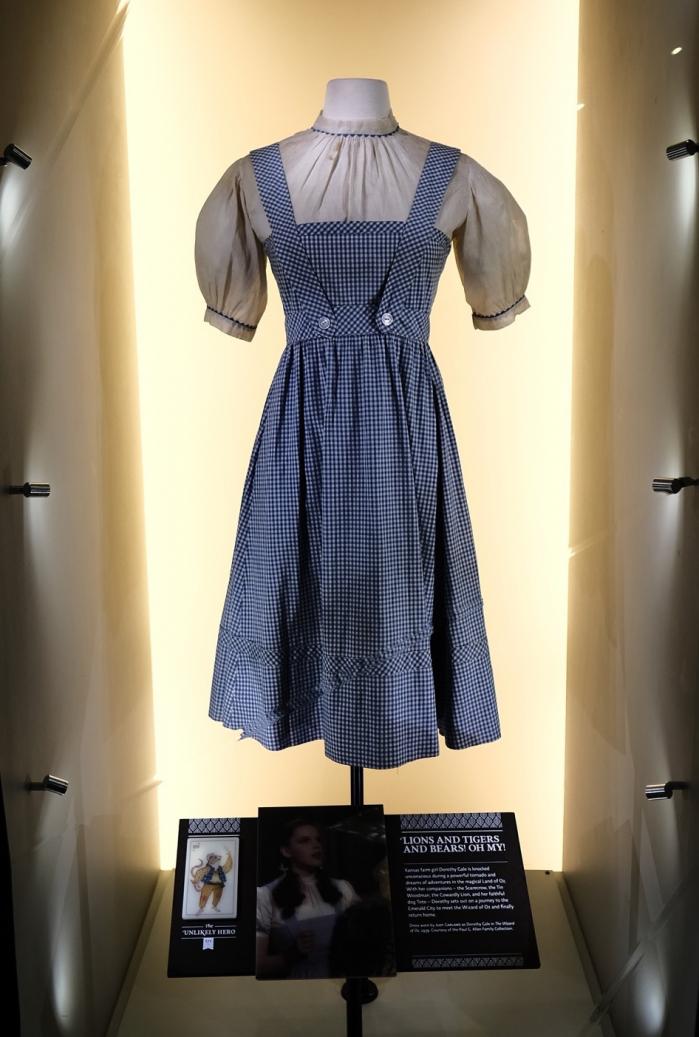 Il vestito di Judy Garland (Dorothy) ne Il Mago di Oz del 1939