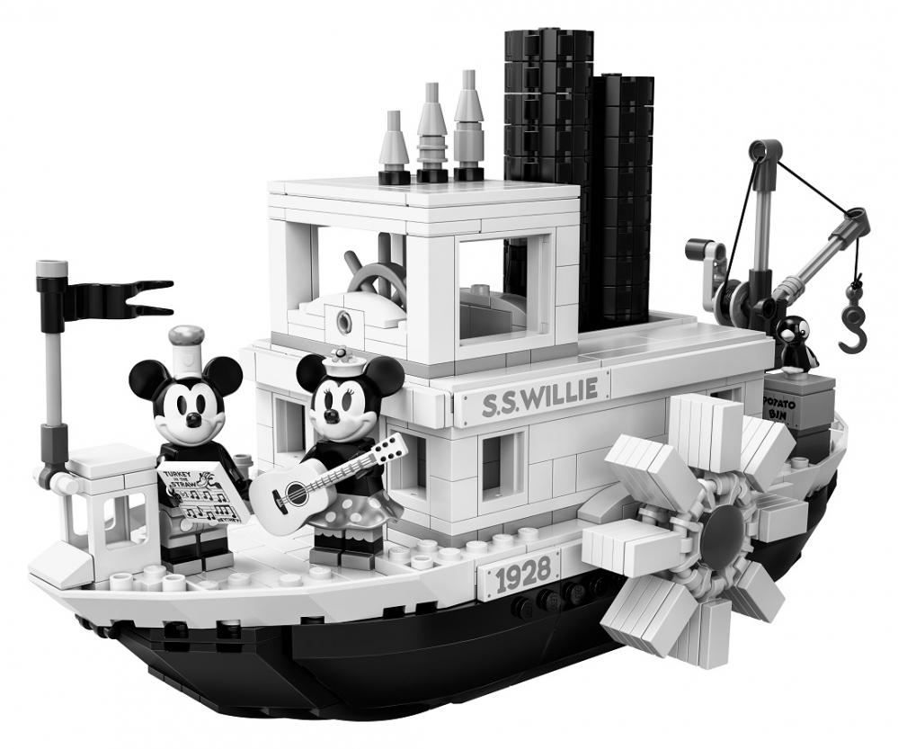 Rivelato il set lego ideas steamboat willie leganerd