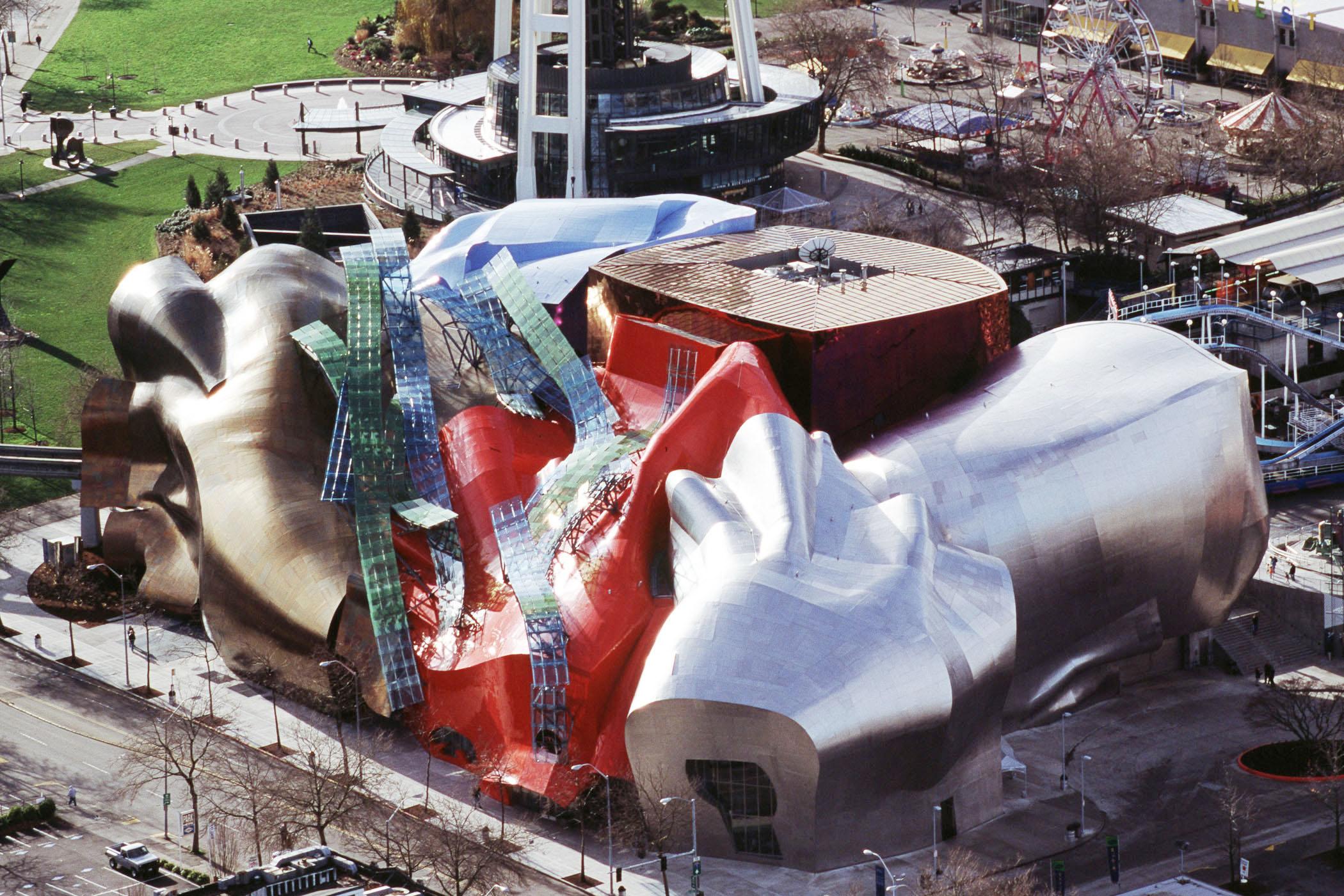 MoPOP, il museo della Pop Culture a Seattle