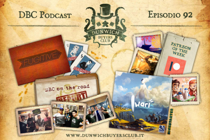 DBC 92: DBC on the road, Santorini, Hanabi, Tash-Kalar, Fugitive, Iwari