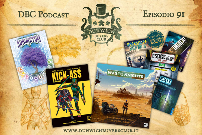 DBC 91: Arboretum, Kick-Ass, Waste Knights, Speciale Escape Room