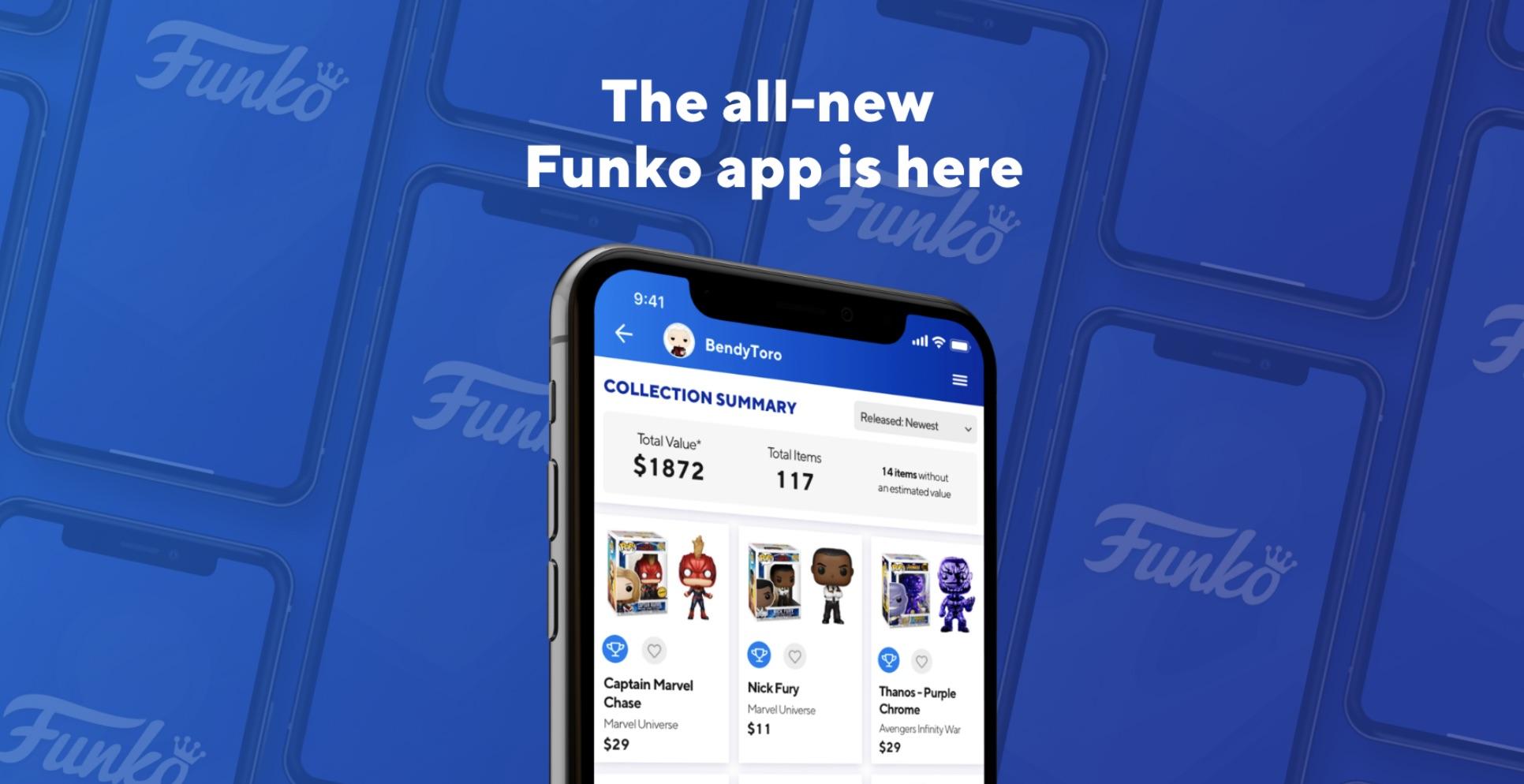 Funko rilascia un'app ufficiale per gestire la propria collezione e verificarne il valore