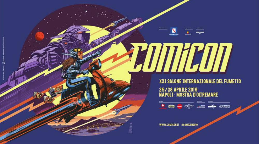 Napoli Comicon 2019: annunciati tre nuovi ospiti