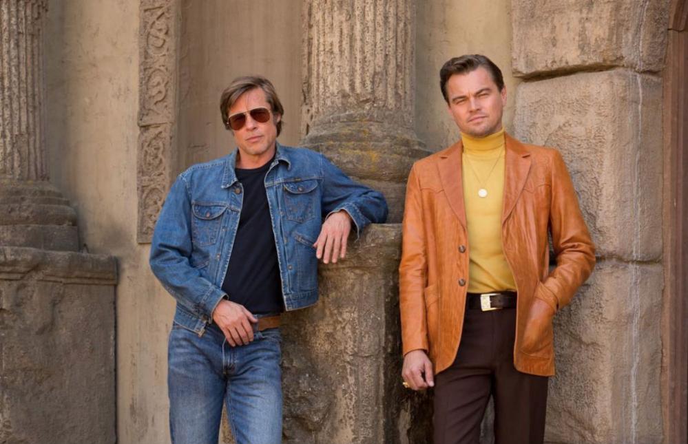 Tarantino, ecco la prima locandina del film con Di Caprio e Pitt