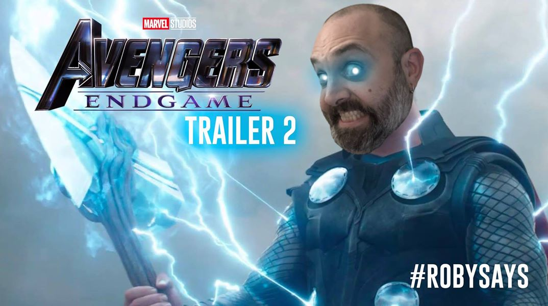 Avengers: Endgame Trailer Reaction! #RobySays