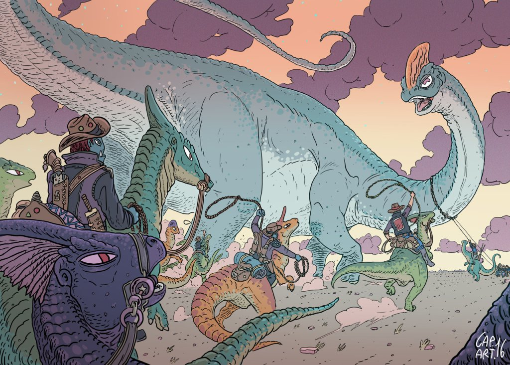Capitan Artiglio: tra fantasy e dinosauri