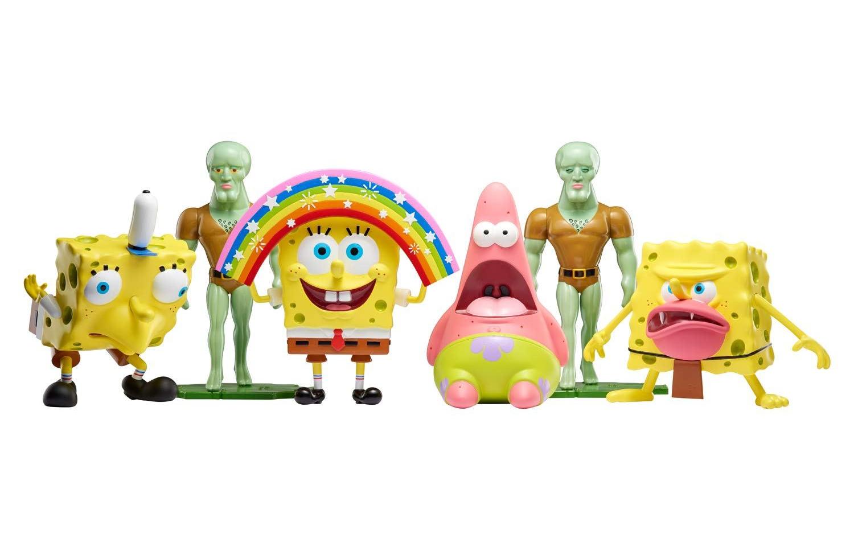 Spongebob Masterpiece Meme Collection: i toy dei meme di Spongebob