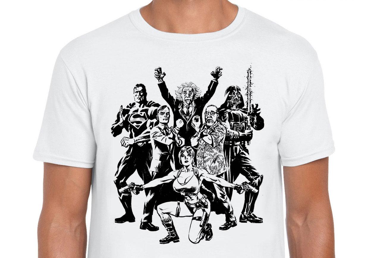 La T-Shirt per i 10 Anni di Lega Nerd ora in vendita su Tee Tee