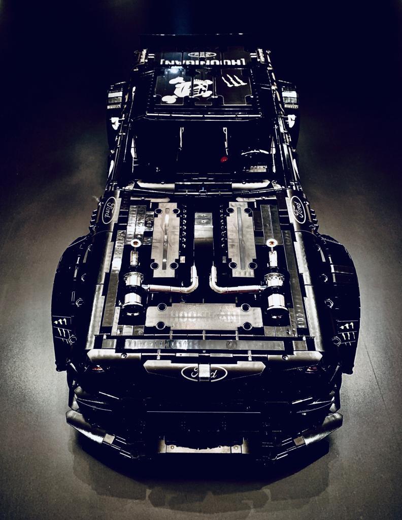 La Ford Mustang Hoonicorn di Ken Block in LEGO Technic