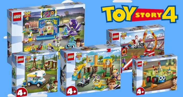 Presentati I Set LEGO Dedicati Al Film Disney Pixar Toy