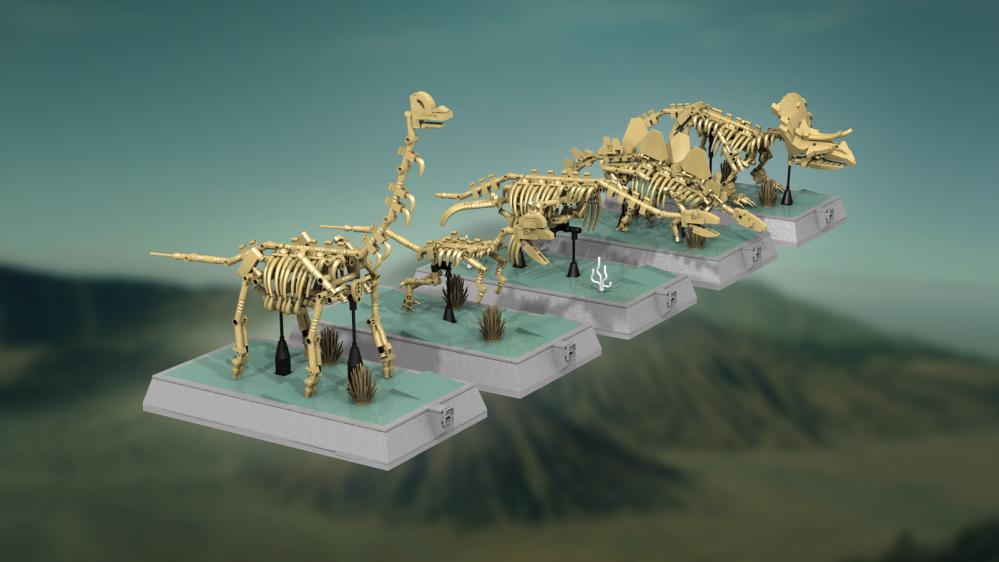 outlet online diventa nuovo scelta migliore I dinosauri fossili (e forse il piano) sono il progetto LEGO Ideas ...