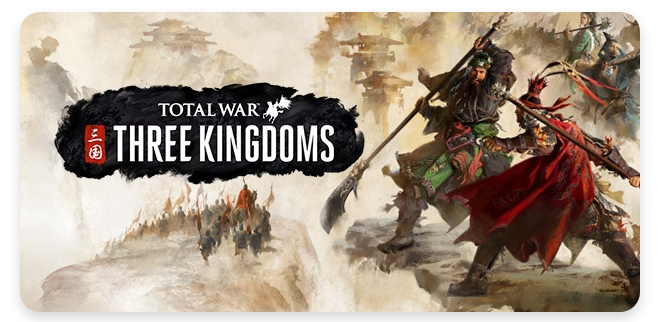 Total War Three Kingdoms Cover