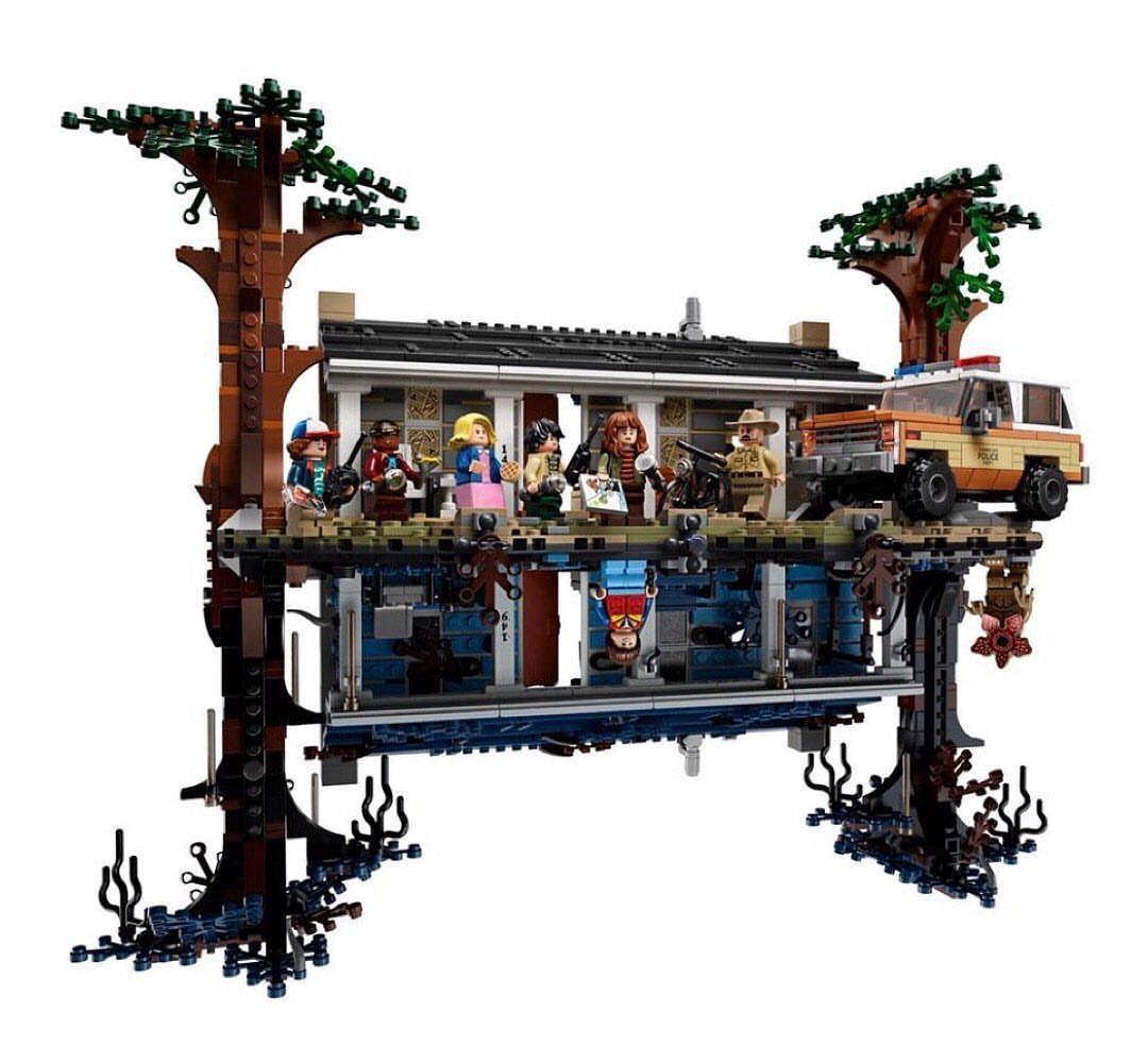 Il set LEGO ufficiale di Stranger Things è a dir poco bellissimo